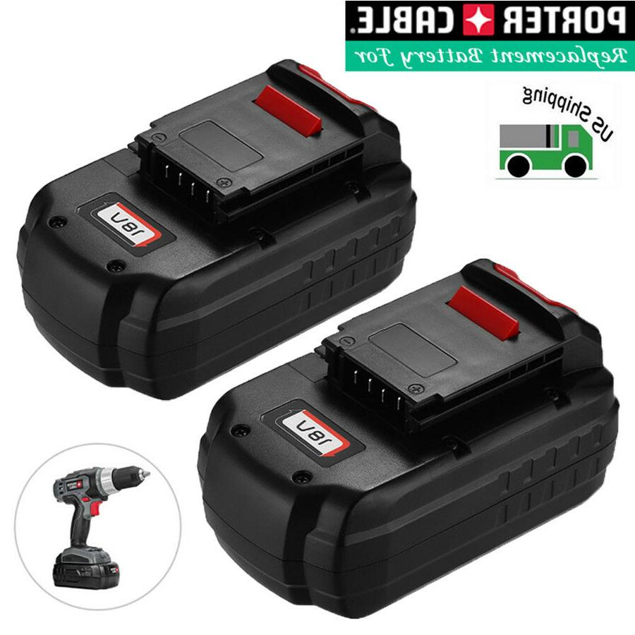 2 pack 18v nicd replacement battery