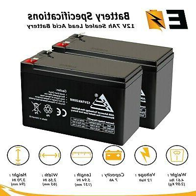 2 pack battery replacement enduring 6 dw