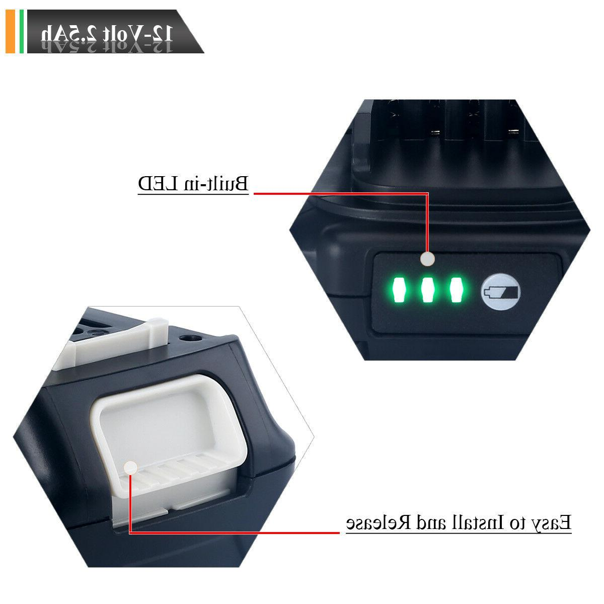 New Max CXT 2.5Ah Battery Replacement Tool