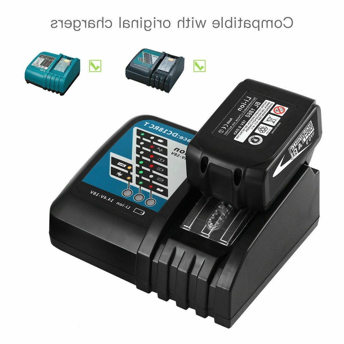 2-Pack LXT Lithium-Ion Battery Replacement Makita
