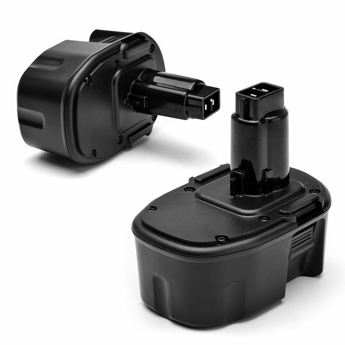 2 Packs 3.0Ah 14.4 Volt NI-MH Rechargeable Replacement Batte