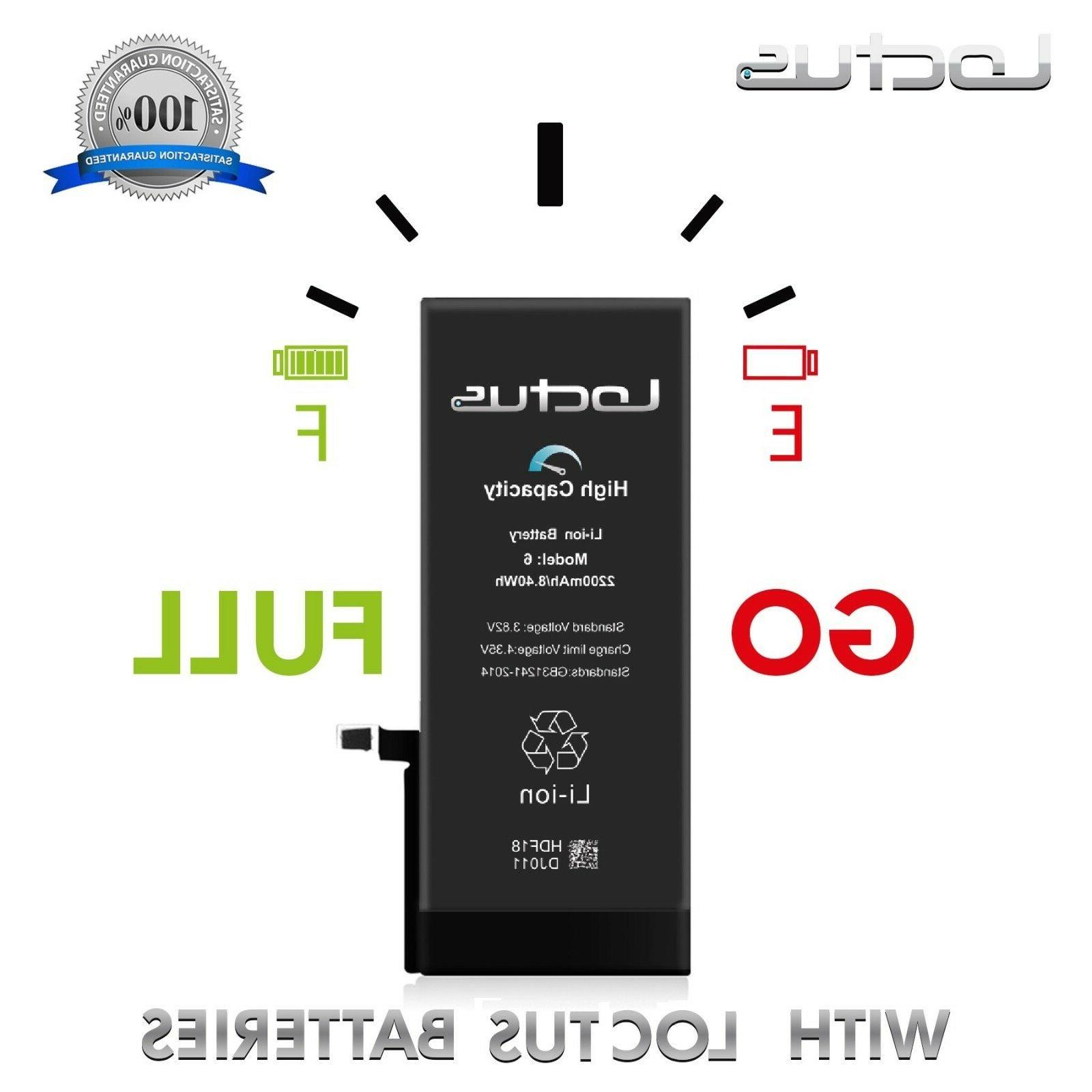 2200mAh High Replacement Battery 6