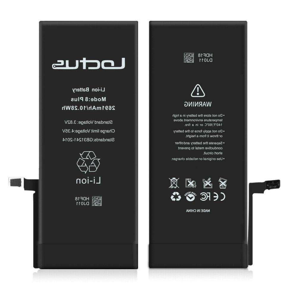 2691mAh for iPhone 8 Plus with Adhesive Warranty