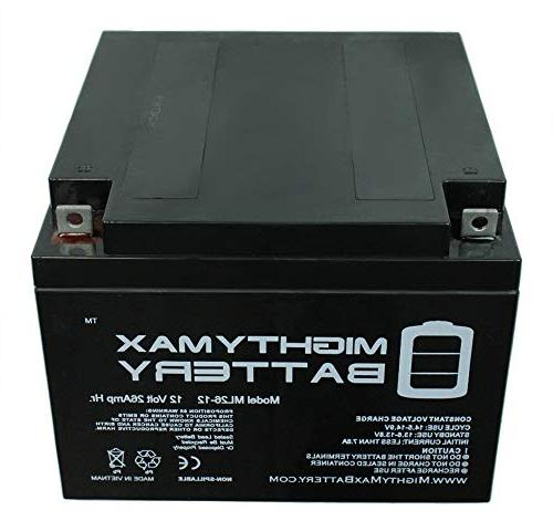 Mighty Max Battery 26AH Battery Replacement for Odyssey