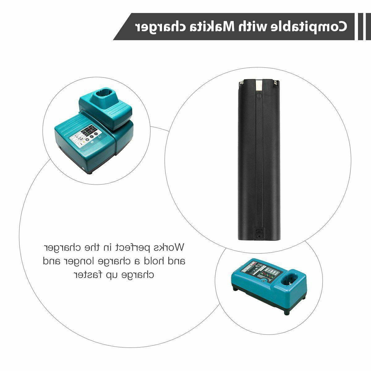 2Pack 9.6v 3000mAh Replacement 9000 9002 9600
