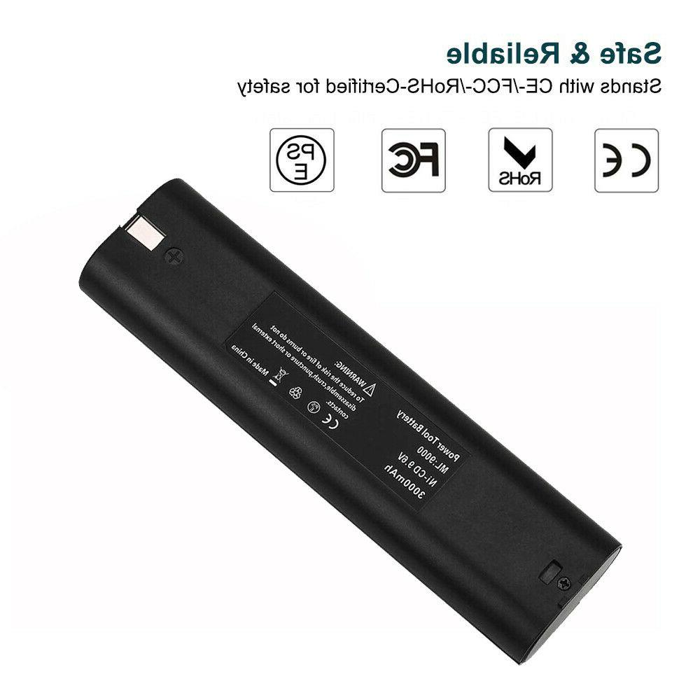 2Pack 9.6v 3000mAh Replacement 9600