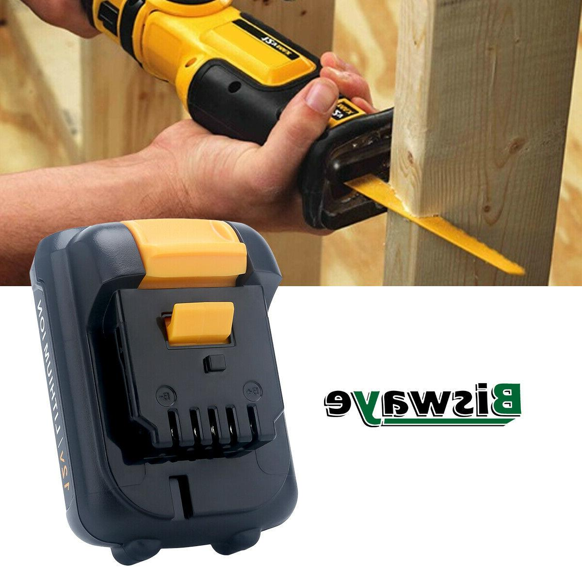 2XFor DeWalt 12V 2.5AH Battery