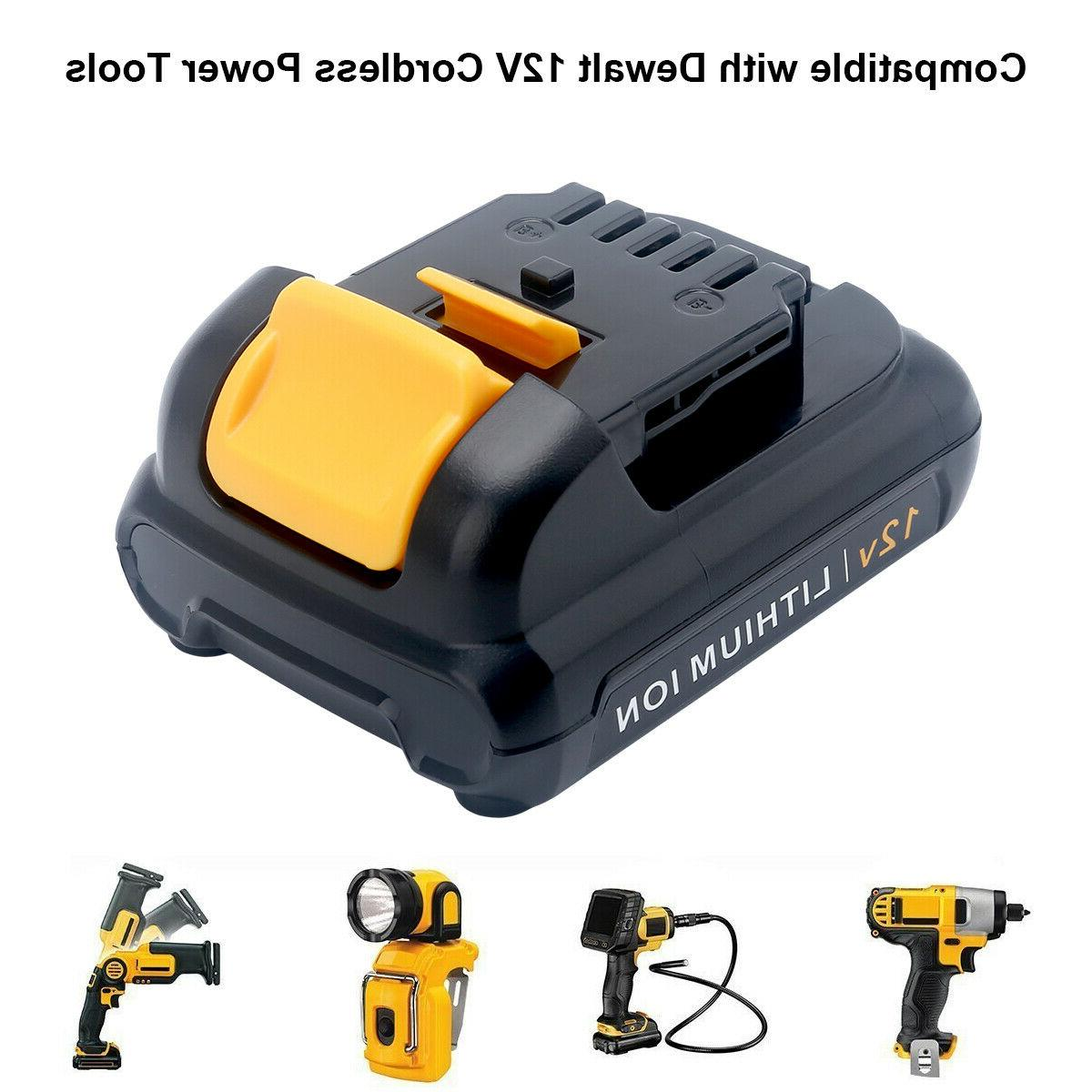2XFor DeWalt 2.5AH Battery