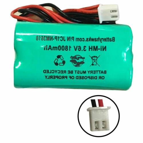 3 6v 1800mah light battery pack replacement