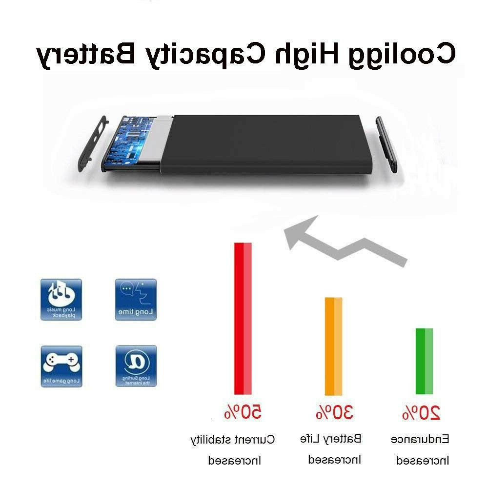 Cooligg 2160mAh Replacement Battery iPhone 7 Tools