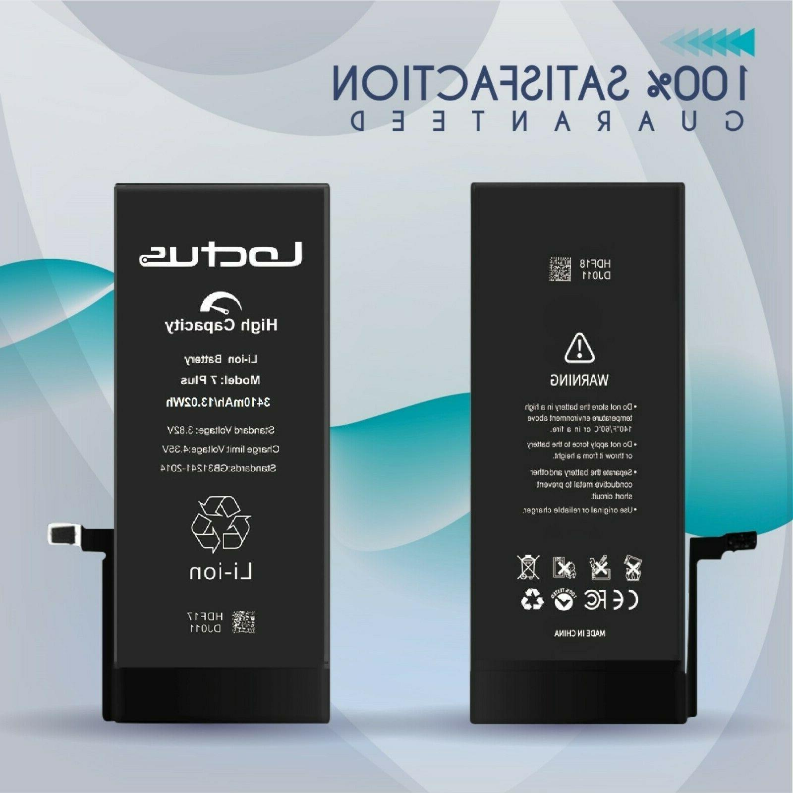 3410mAh for iPhone Complete Warranty