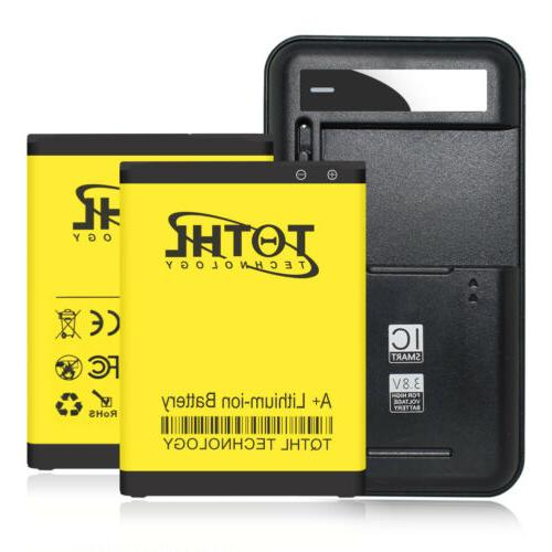 3300mAh Replacement battery or Multi-Function Charger Fr LG
