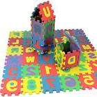 36 pcs Baby Kids Alphanumeric Educational Puzzle Blocks Infa