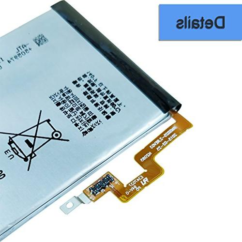 4.5'' BlackBerry Replacement Built-in Battery 3400mAh