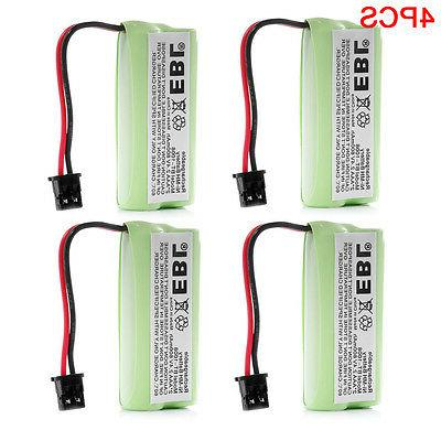 4x rechargeable cordless home phone battery