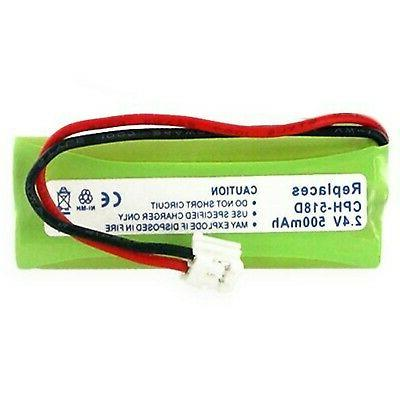 500ma 2 4v replacement ni mh battery