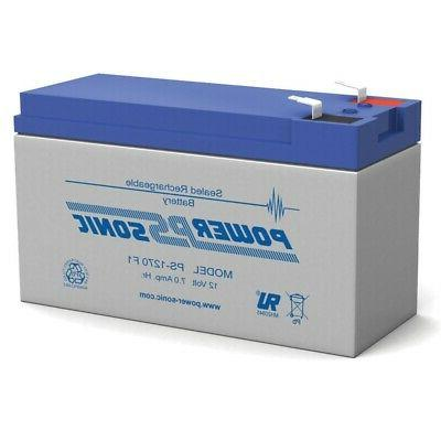 7ah battery replacement