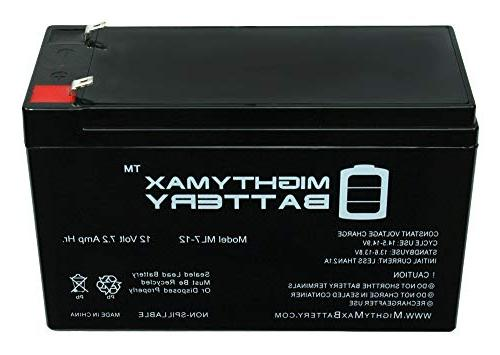 Mighty Battery - 7.2AH Replacement Battery for APC ES550, brand