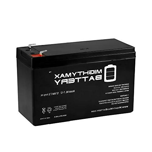 12V 7.2AH SLA Battery for Verizon FiOS PX12072-HG - Mighty M