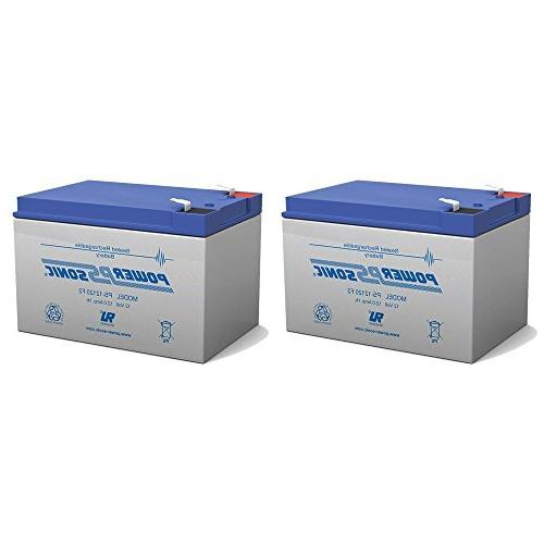 BATTERY REPLACEMENT for POWER-SONIC PS-12120F2 PS-12120 F2,1