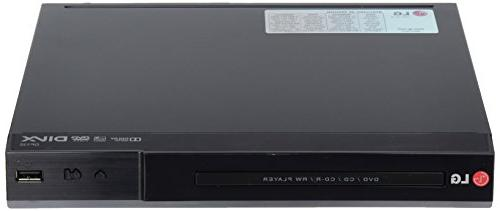 LG DP132 DVD Player With Flexible USB & DivX Playback
