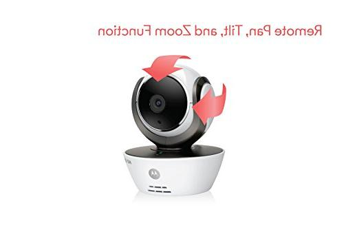 Motorola Dual Baby Monitor with LCD Parent Monitor