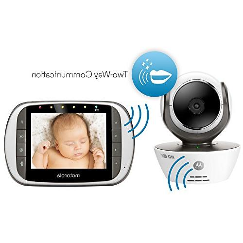 Motorola MBP853CONNECT Dual Baby with 3.5-Inch LCD