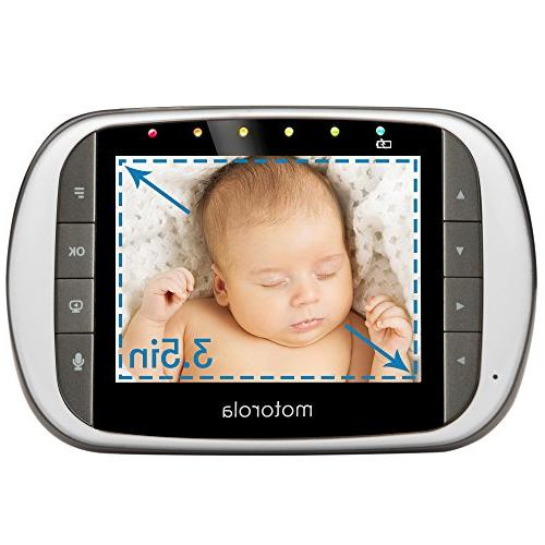 Motorola Dual Baby Monitor with 3.5-Inch LCD Parent Wi-Fi Viewing