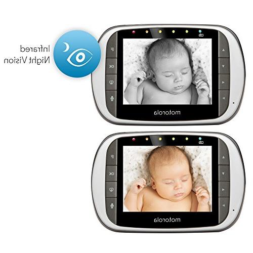 Motorola MBP853CONNECT Baby with 3.5-Inch LCD Monitor and Wi-Fi Viewing