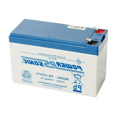 Power-Sonic Powersonic PS1270F1 Battery