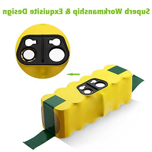 Powerextra Compatible with Roomba R3 500,600,700,800,900 510 530 535 552 570 580 595 660 700 780 800 900 980