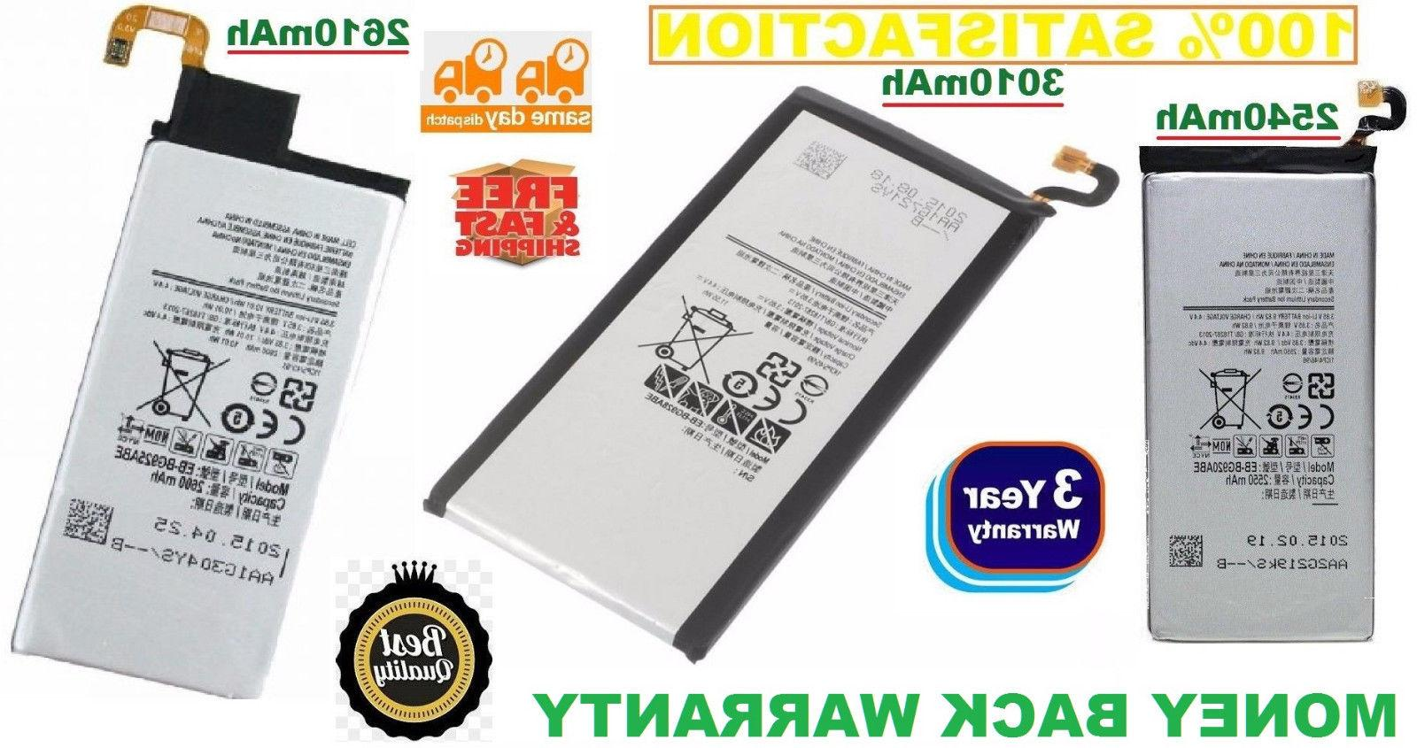 Replacement Battery Compatible For Samsung Galaxy S6, S6 Edg