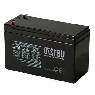 UPG 12V 7AH SLA Replacement Battery for Alarm System and Ver