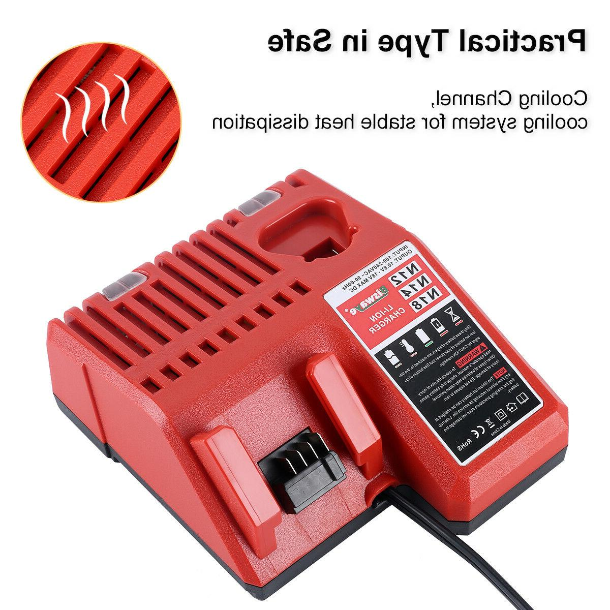 Replacement Battery Milwaukee 12V M12 18V Lithium Battery