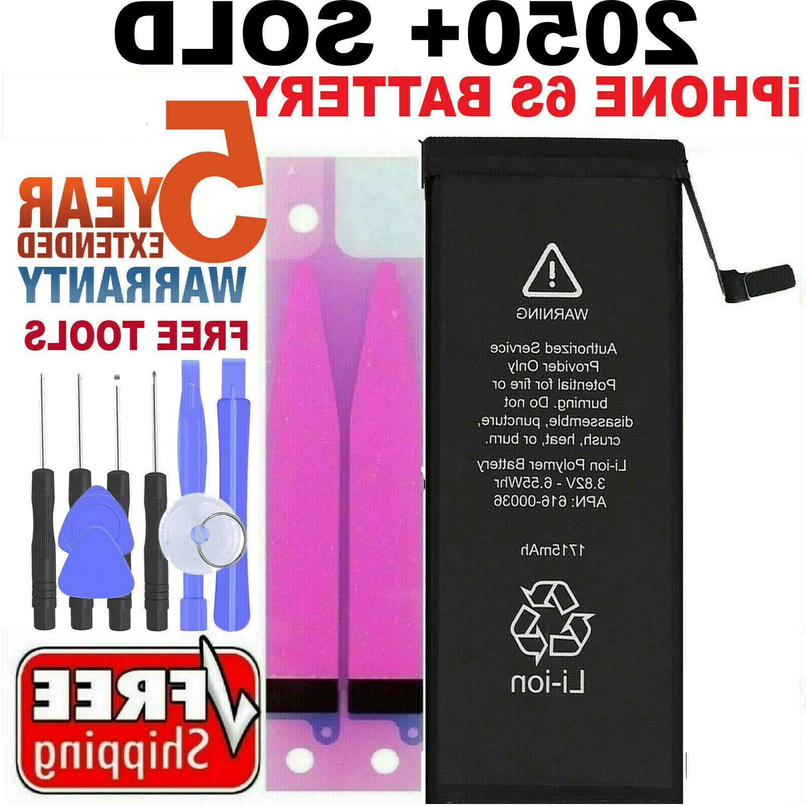 Battery For iPhone 6s internal replacement  Free oem Tools &