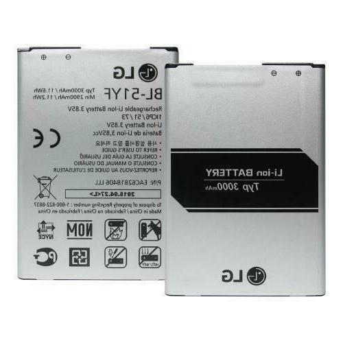 brand new replacement battery for g3 g4