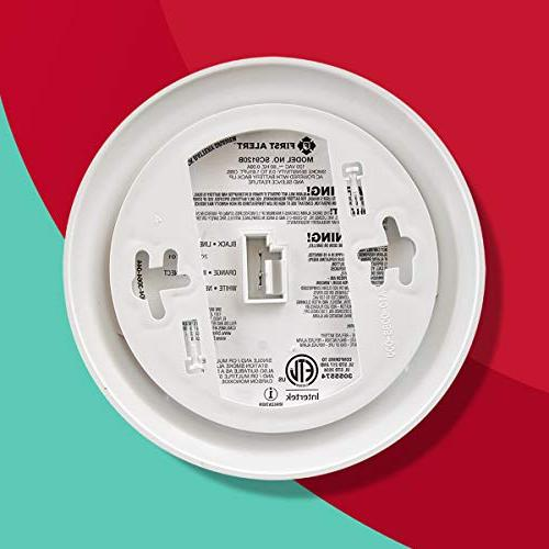 First Alert Smoke and Carbon Alarm | Battery