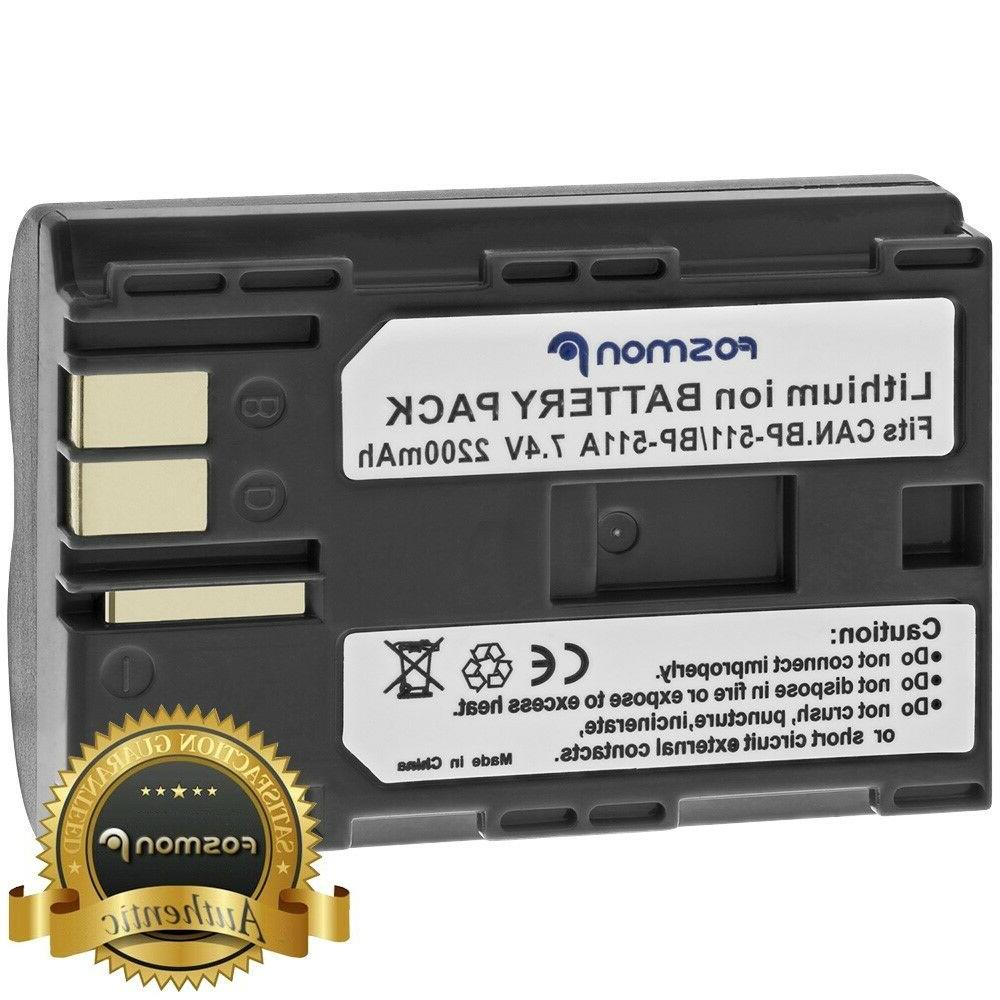Fosmon 2200 mAh Replacement High Capacity Battery Pack for C