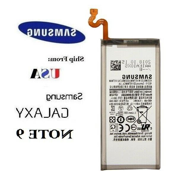 galaxy note 9 replacement battery n960 4000mah