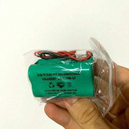 Ni-MH AA1800mAh Pack Replacement Emergency / Light