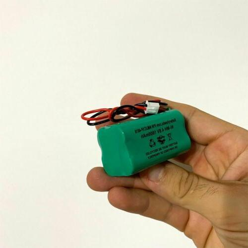 Solar 4.8v 1800mah Battery Replacement