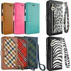 Luxury Leather Wallet Flip Case Cover For iPhone X 6 6S 7 8