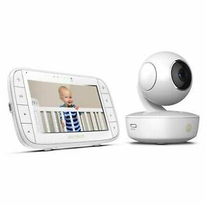 mbp36xl portable video baby monitor white open