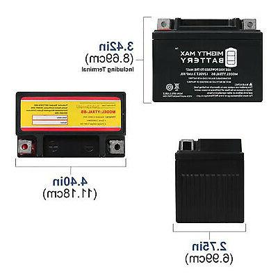 Mighty Max Battery Replacement YUASA 12V