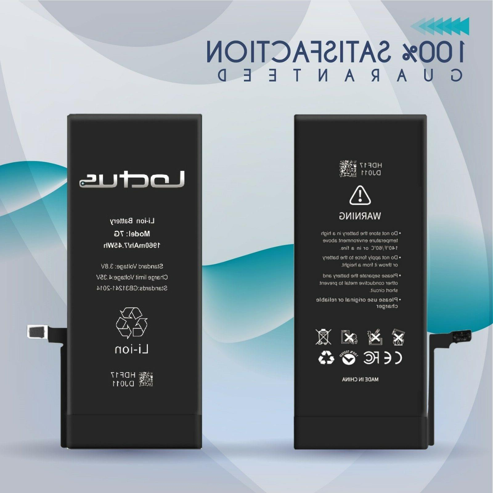 NEW 2200mAh Replacement Battery for iPhone 7 with Tool