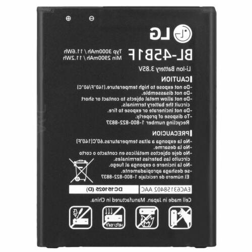 new oem v10 battery bl 45b1f replacement