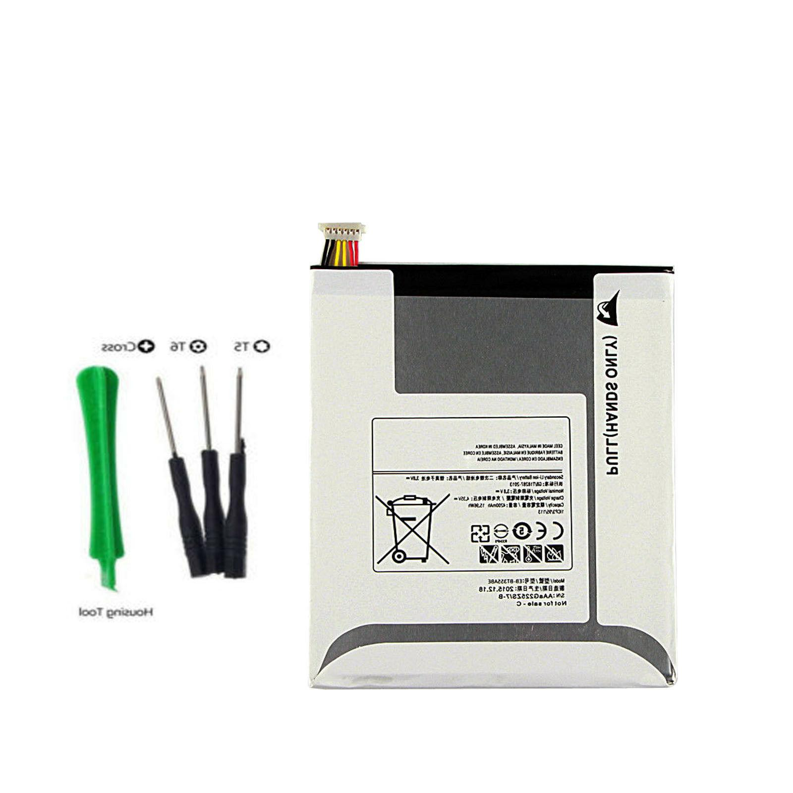 NEW Replacement Battery For Samsung GALAXY Tab A 8.0 SM-P350