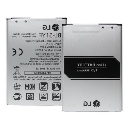 new replacement internal battery for g3 3000mah
