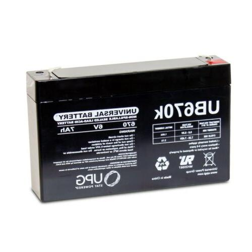 NEW 4PK 6V 7AH Replacement 4 Beiter Power