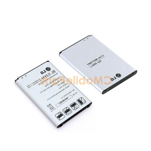 OEM BL-53YH 3000mAh Battery Replacement for LG G3 D850 D855